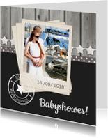 Babyshower Hout Ster 1LS3