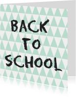 Back to school Kaart - WW