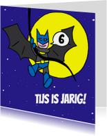 Verjaardagskaarten - batman is jarig tekst aanpassen
