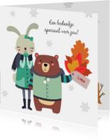 Bedankkaart herfst