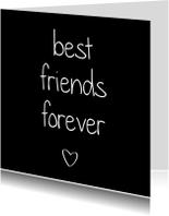 Vriendschap kaarten - Best friends forever