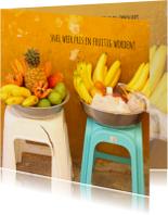 Beterschapskaarten - Beterschap Fruit Bowl
