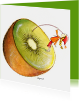 Beterschapskaarten - Beterschap kiwi