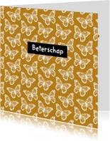 Beterschapskaarten - Beterschap vlinders - SV