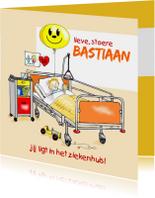 Beterschap ziekenhuis jongetje