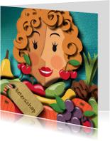 Beterschapskaarten - Beterschapskaart - fruitschaal