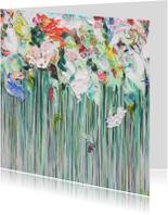 Bloemen tuin mix