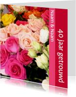 Bloemen Uitnodiging
