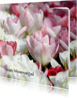 Bloemenkaart - Een Tulpen Zee OT