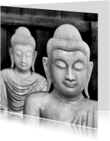 Buddha Zwart Wit - OT