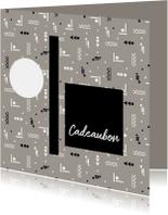 Kaarten mailing - Cadeaubon zakelijk zzp adviesbureau