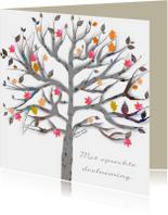 Condoleancekaarten - condoleance boom