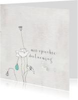 Condoleancekaarten - Condoleancekaart - stilte en leegte