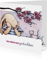Condoleancekaart T&M bloesem-IH