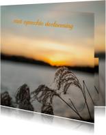 Condoleancekaarten - Condoleancekaarten riet MM