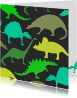 Dinosauriërs groen