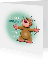 Sterkte kaarten - Een dikke knuffelbeer voor een vriend of vriendin