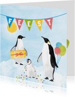 Feestje pinguins
