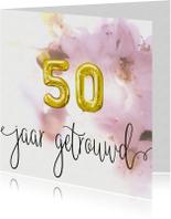 Felicitatiekaarten - Felicitatie 50 jaar huwelijk