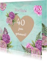Felicitatiekaarten - Felicitatie hart craft