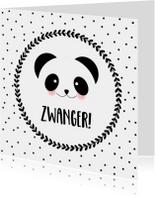 Felicitatie Zwanger Panda - WW