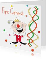 Fijne Carnaval clown