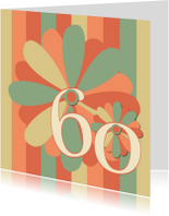 Verjaardagskaarten - flower60