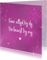 Fryske sprankelende valentijnskaart