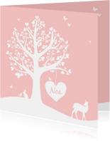 Geboorte - Hartjesboom meisje