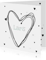 Geboortekaartje Hart Lars