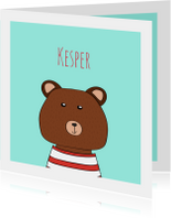 Geboortekaartjes - Geboortekaartje Kesper BerenHip!