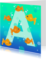 Geslaagd kaarten - Geslaagd Zwemdiploma A