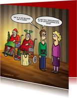 Grappige kerstkaart Kerstomaatjes