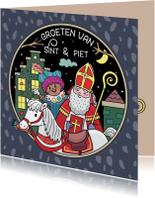 Groeten van Sint en Piet
