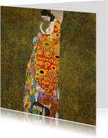 Kunstkaarten - Gustav Klimt. Hoop