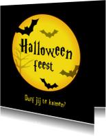 Halloween feest uitnodiging