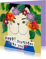 Happy Birthday Kat bloemen
