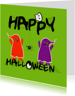 Happy halloween kaart -IR