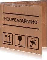 Housewarming verhuisdoos