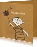 Verjaardagskaarten - Jarig - Sunflower Birthday - MW