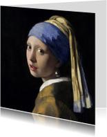 Johannes Vermeer. Het meisje met de parel