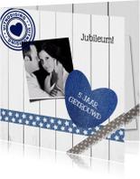 Jubileum 5 jaar huwelijk - DH