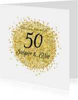 Jubileum vijftig goud av