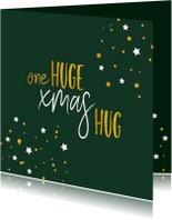 Kerstkaarten - Kerst One huge xmas hug