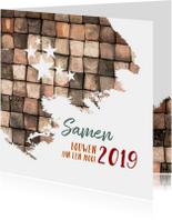 Zakelijke kerstkaarten - kerst zakelijk samen bouwen aan een mooi 2019