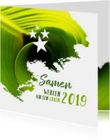 Zakelijke kerstkaarten - Kerst zakelijk samen werken aan een groen 2019