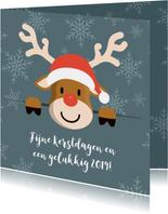 Kerstgroet van Rudolf