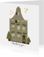 Kerstkaarten - Kerstkaart Christmas Home