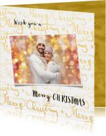 Kerstkaarten - Kerstkaart Merry Christmas 2019