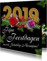 Kerstkaarten - Kerstkaart met cijfers 2019 - HE